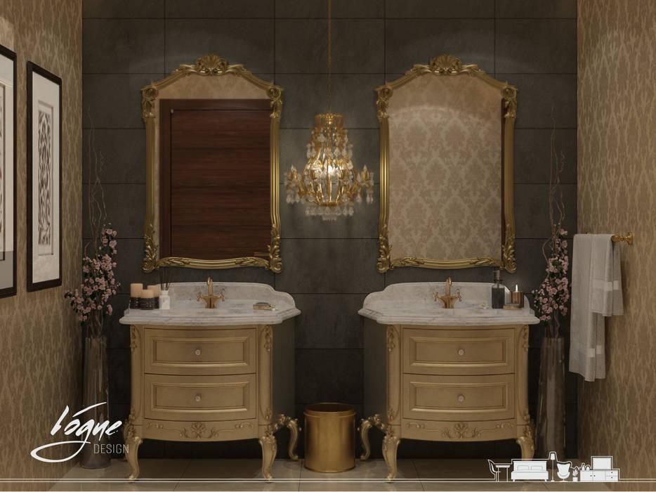 فيلا خاصة:  حمام تنفيذ Vogue Design