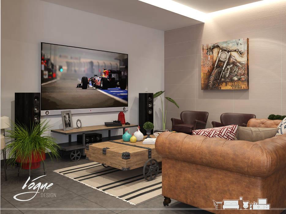 Vogue Design Sala multimediale in stile classico
