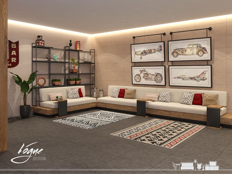 Vogue Design Classic style media room