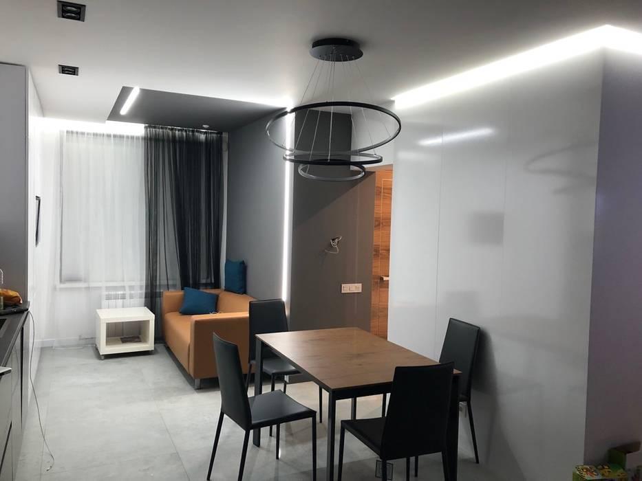 Будинок у стилі Мінімалізм:  Їдальня by Наталія Мироненко