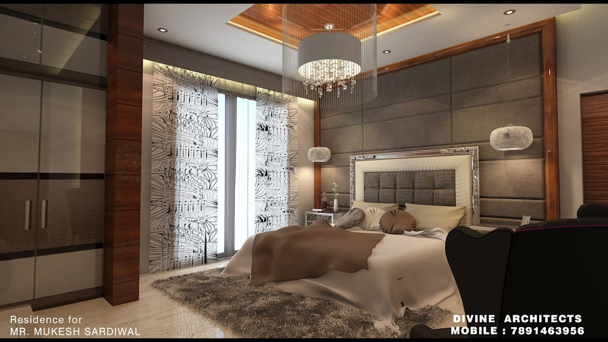 resident interior:   by divine architects
