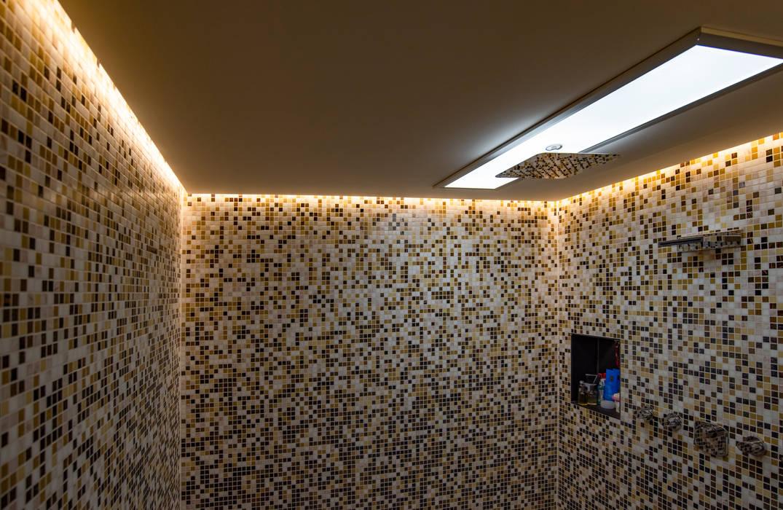 Schöner wohnen durch indirekte beleuchtung: badezimmer von ...