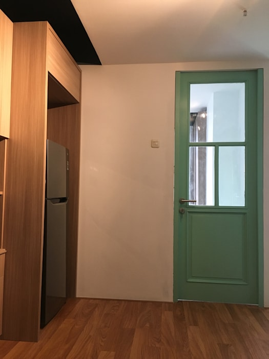 Pintu Kamar Tidur Oleh indra firmansyah architects Minimalis