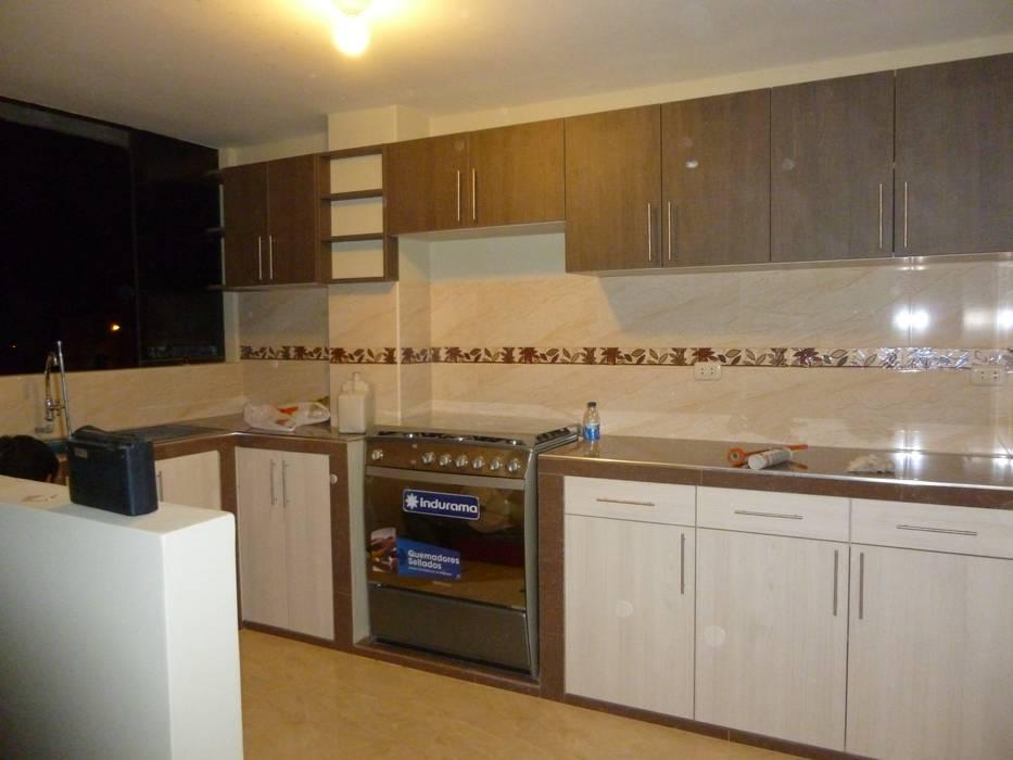Cocina terminada: Muebles de cocinas de estilo  por ARDI Arquitectura y servicios