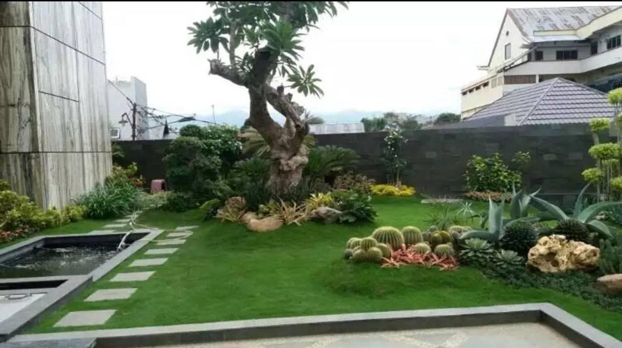 Roof Garden Oleh Tukang Taman Surabaya - Tianggadha-art Modern Batu