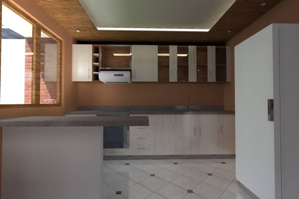 Cocina: Cocinas pequeñas de estilo  por ARDI Arquitectura y servicios