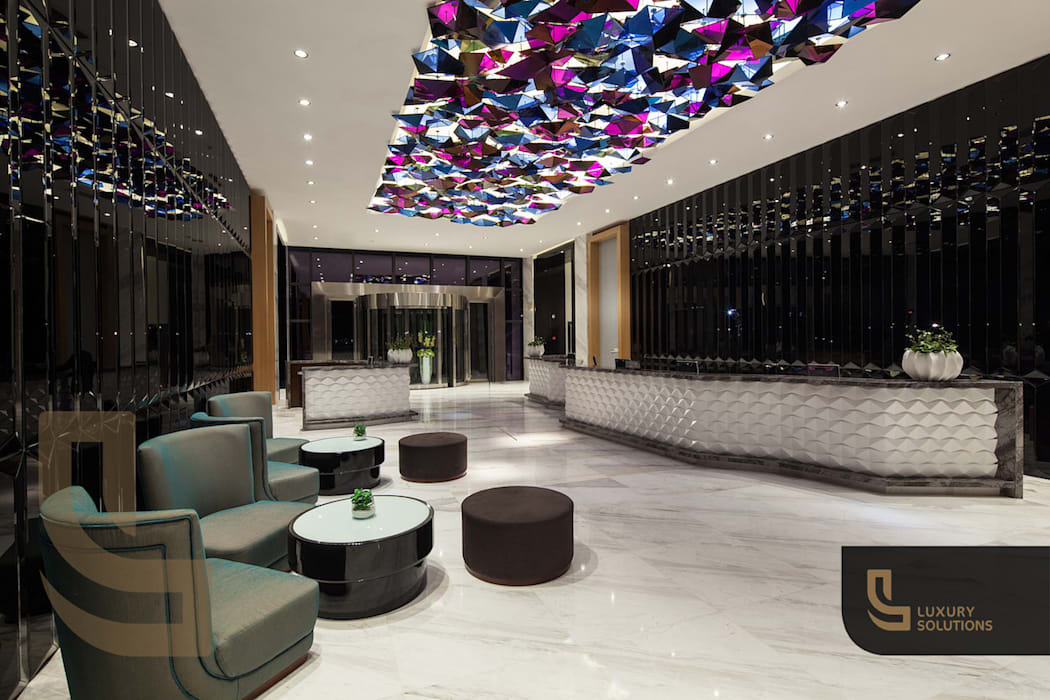 Scandinavian style hotels by Luxury Solutions Scandinavian Marble
