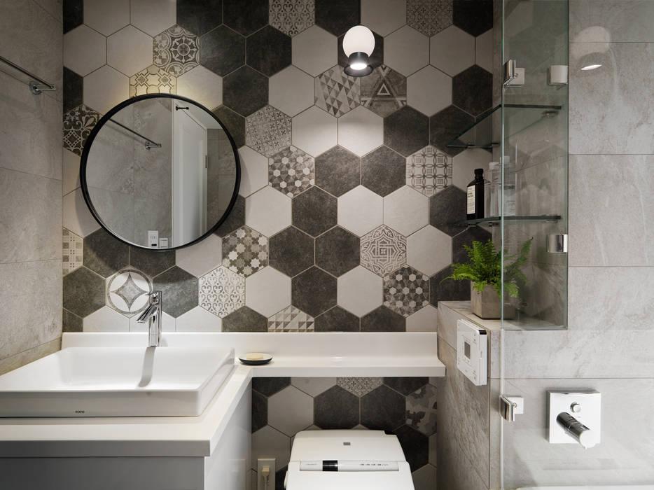 ห้องน้ำ โดย 創喜設計,