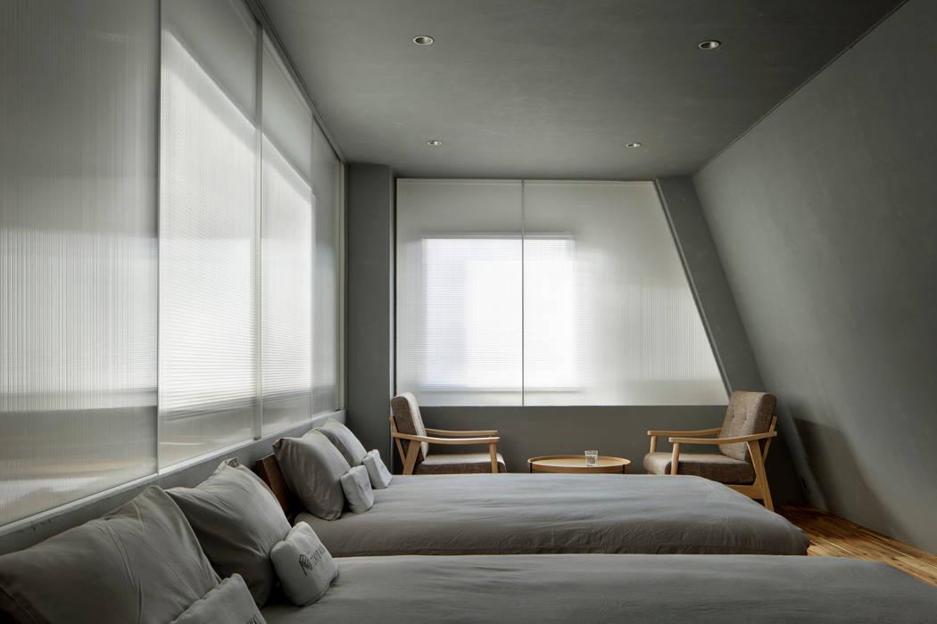 目白通りのアパートメントホテル Ⅰ 北欧風商業空間 の 西谷隆建築計画事務所 北欧