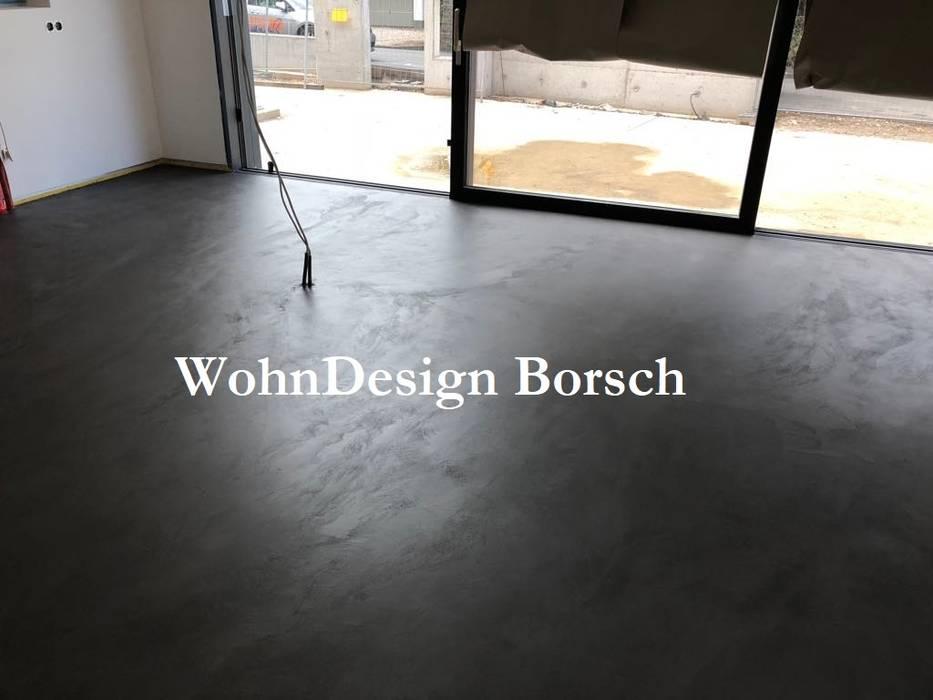 Fugenlose Böden Malerbetrieb Dirk Borsch Boden