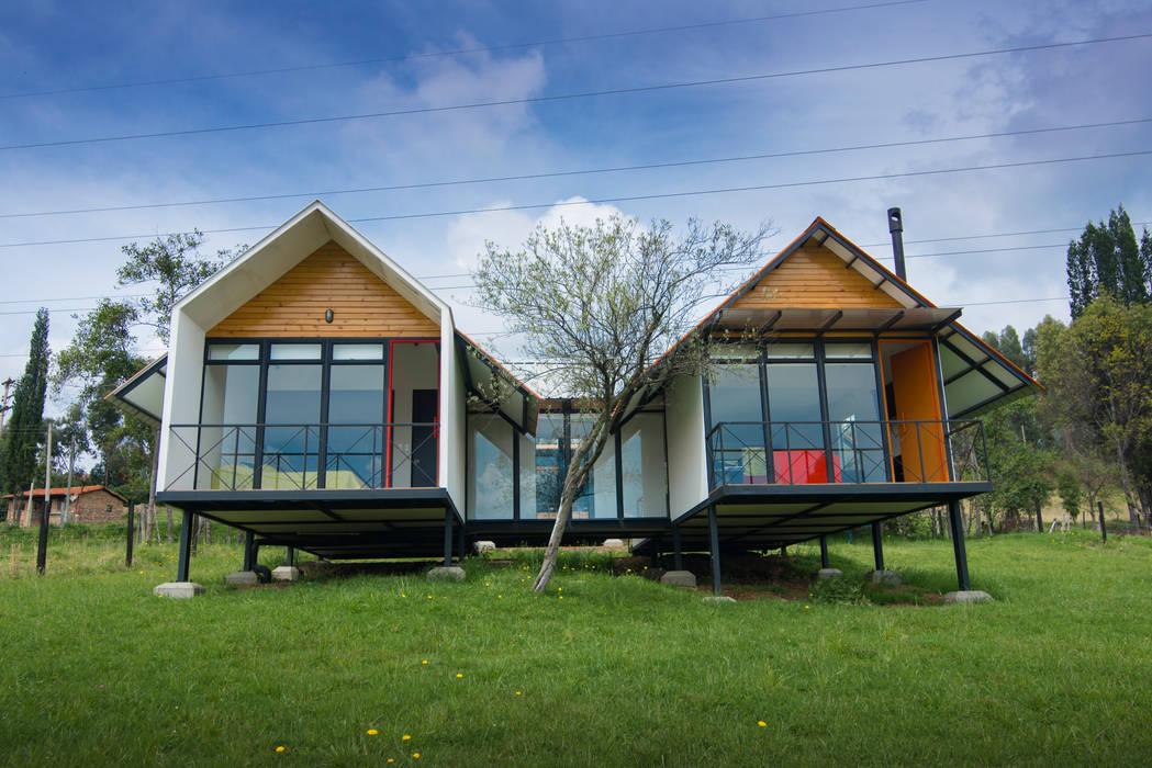 Refugio El Rosal de Camacho Estudio de Arquitectura Rural Derivados de madera Transparente