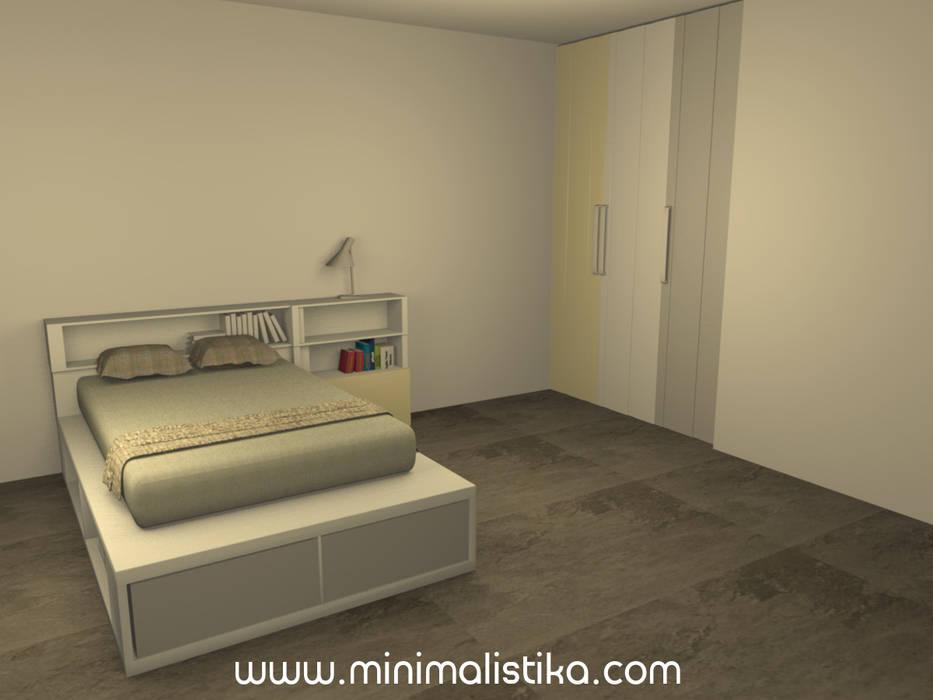 Dormitorio 15: Dormitorios infantiles de estilo  por Minimalistika.com