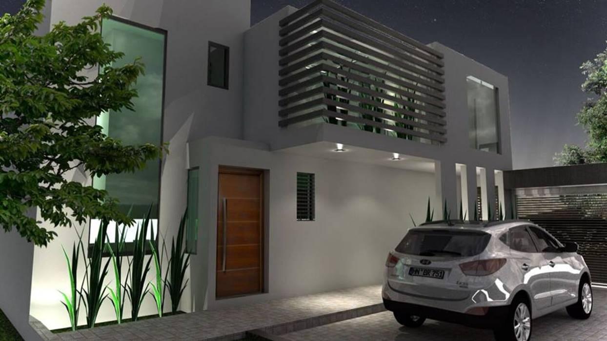 van A&E Diseño Arquitectonico Modern Beton