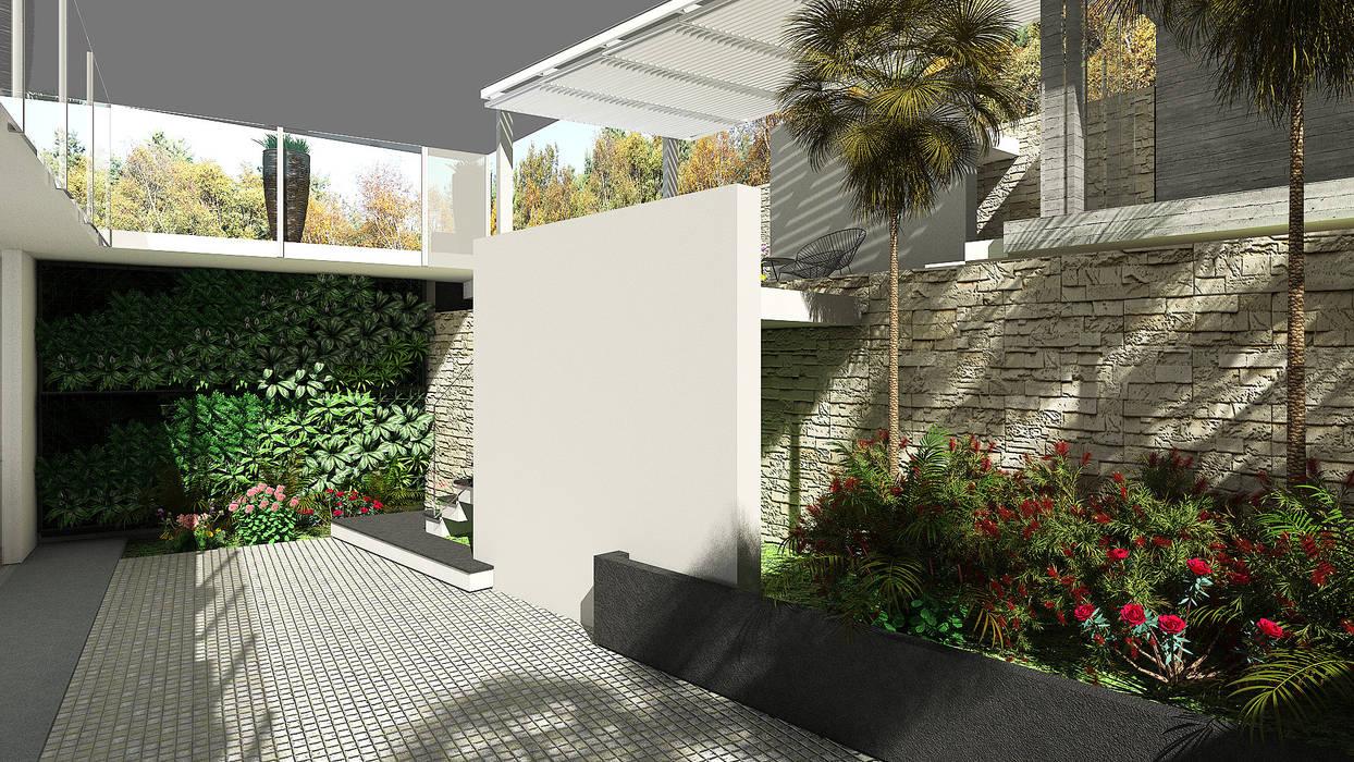 Terraza: Terrazas de estilo  por Proyectos C&H C.A, Moderno
