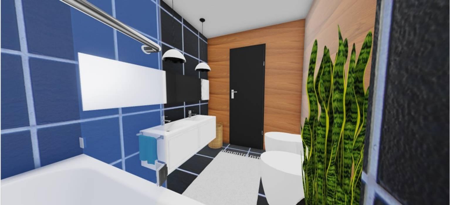 Renovação de WC Suite: Casas de banho  por SweetYellow
