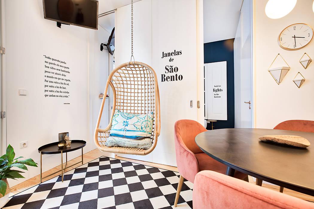 Scandinavian style living room by SHI Studio, Sheila Moura Azevedo Interior Design Scandinavian