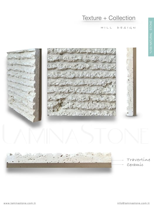 by Lamına Stone Rustic Limestone