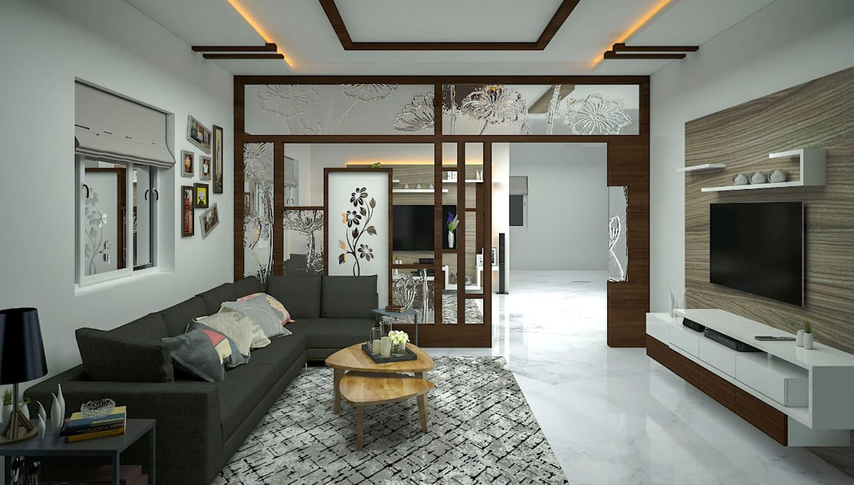 DRAWING ROOM:   by Inside Element