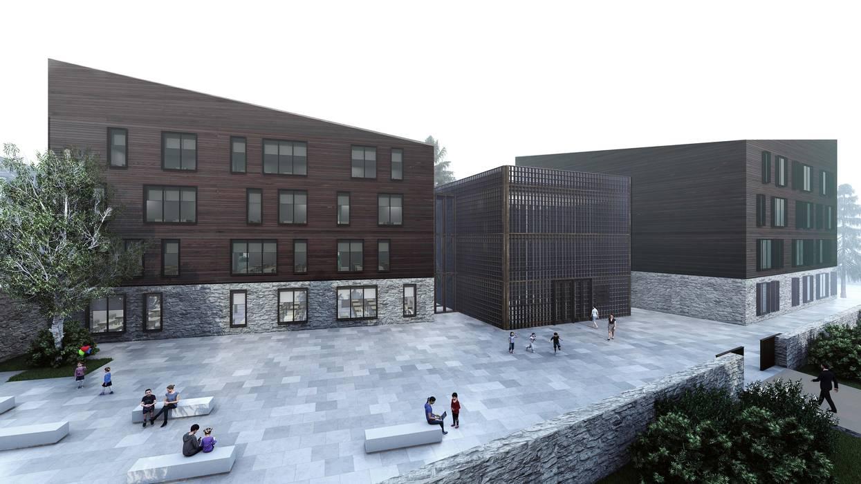 ΛRCHIST Mimarlık|Archıtecture – Güneysu Ortaöğretim Kampüsü:  tarz Okullar
