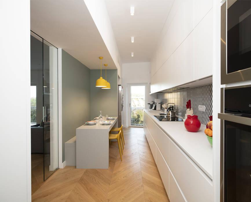 Casa TIZIANO Cucina moderna di Arabella Rocca Architettura e Design Moderno