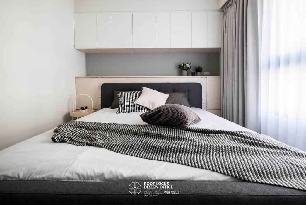 Kamar Tidur oleh 築本國際設計有限公司, Skandinavia