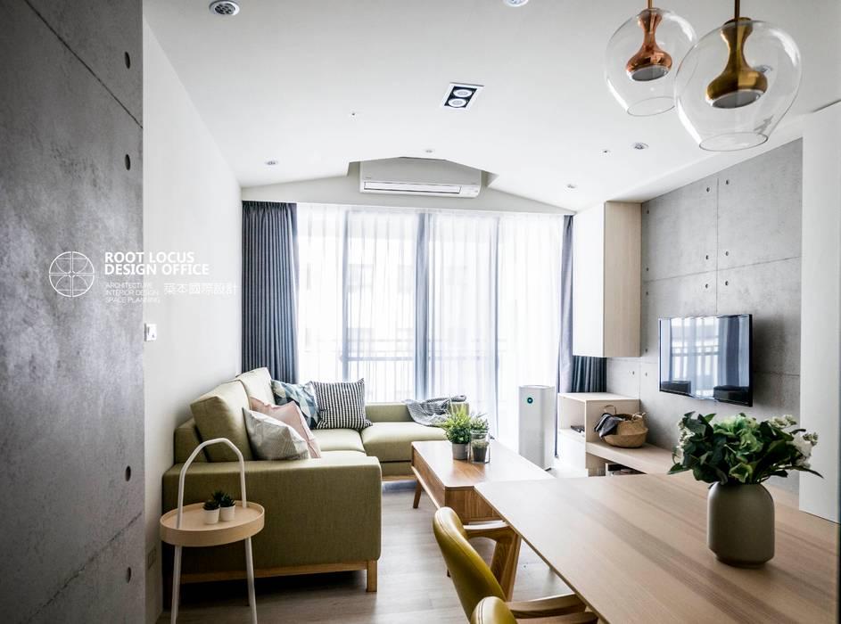 台中 詹公館 根據 築本國際設計有限公司 北歐風