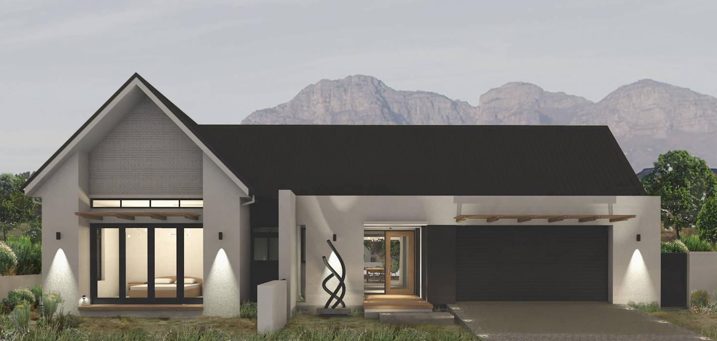 Work in progress:  Houses by Abré Marais Architects,