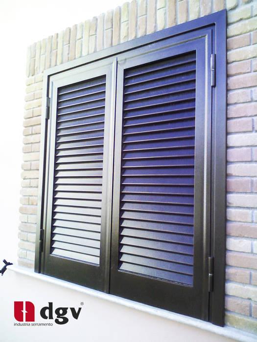 DGV metal srl Windows & doors Windows Iron/Steel Brown