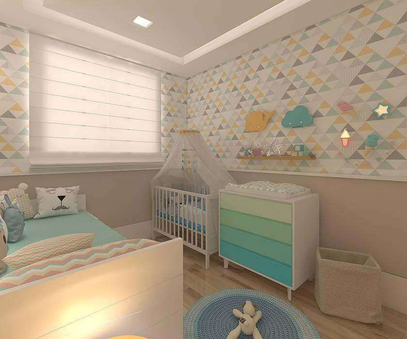 Quarto de bebê por Legrand Arquitetura Moderno