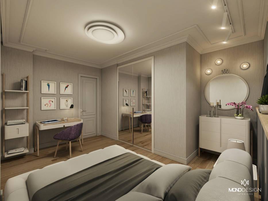GÜL SOKAK DAİRE Modern Yatak Odası Monodesign İçmimarlık Modern