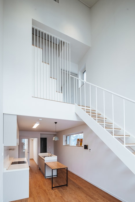 남양주_ 너.도.나.도.집.: AAPA건축사사무소의  계단,