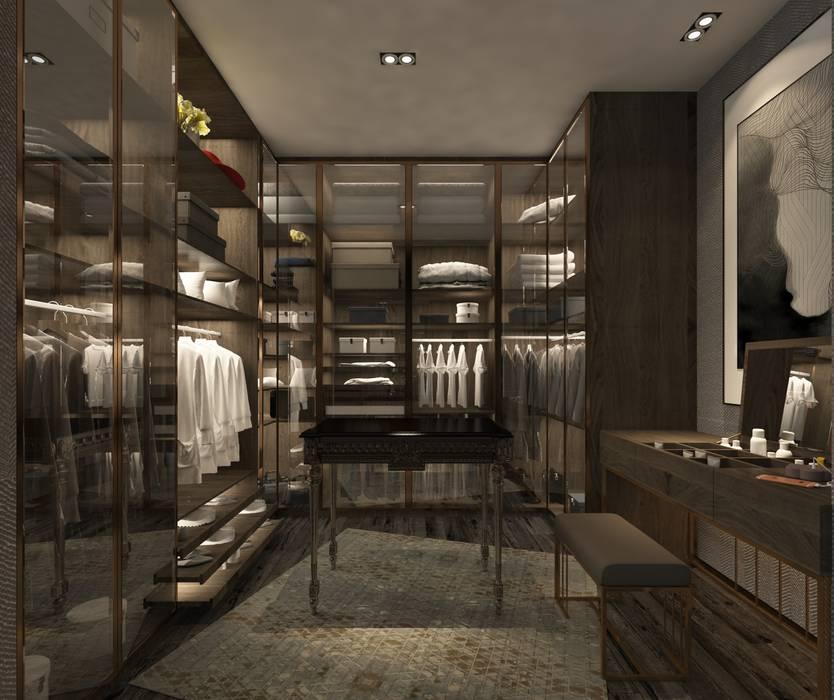 Derya Malkoç İç Mimarlık – GİYİNME ODASI :  tarz Giyinme Odası