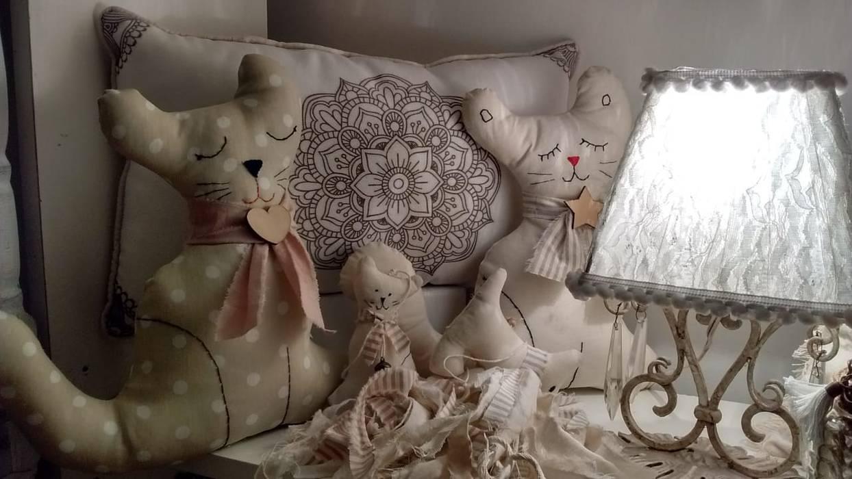 Estilo vintage shabby chic - La Plata: Dormitorios infantiles  de estilo  por ANADECO - Decoradora y Diseñadora de Interiores - La Plata