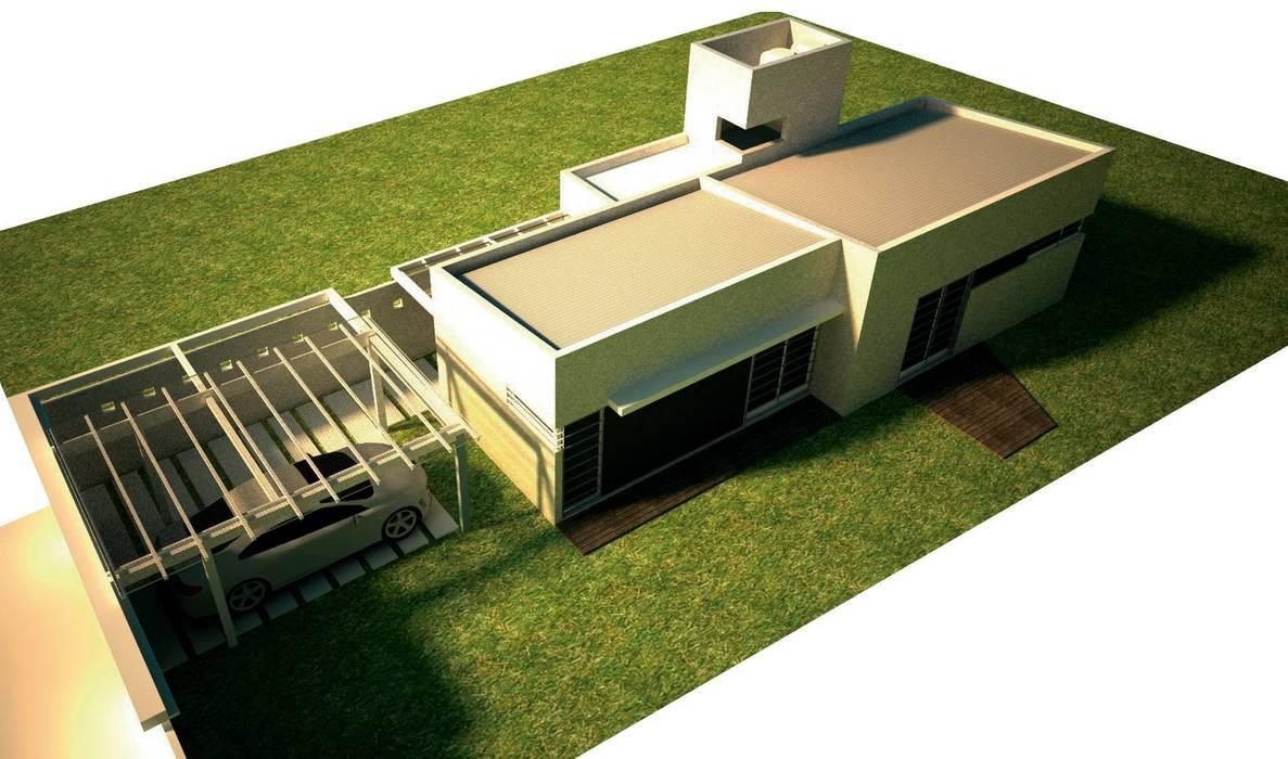 Arq. Germán Perez Bielloが手掛けたプレハブ住宅