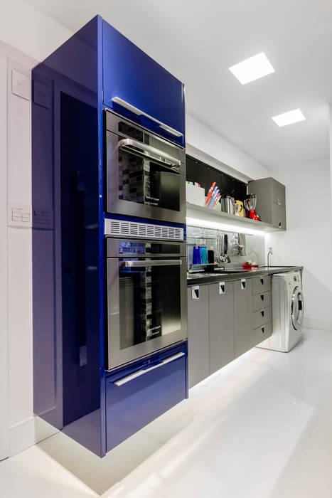 Detalhes Cozinha Gourmet por Arquitetura Sônia Beltrão & associados Moderno
