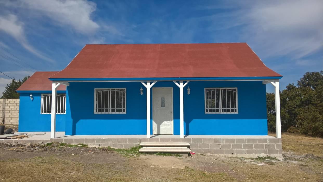 casa prefabricada de 100 mts2 Casa Prefabricada en Mexico. Casas prefabricadas