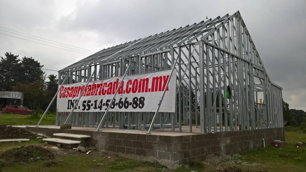 CASA PREFABRICADA DE 100 MTS2 de Casa Prefabricada en Mexico. Moderno