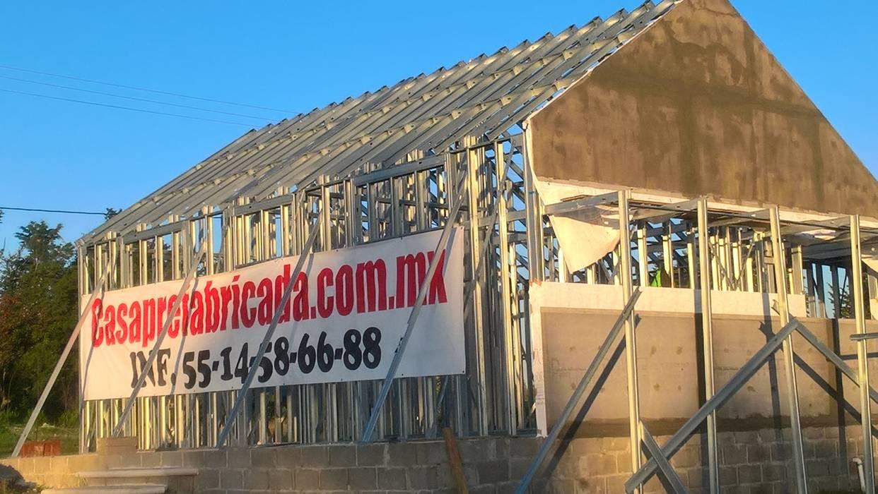 CASA PREFABRICADA DE 100 MTS2 de Casa Prefabricada en Mexico. Minimalista