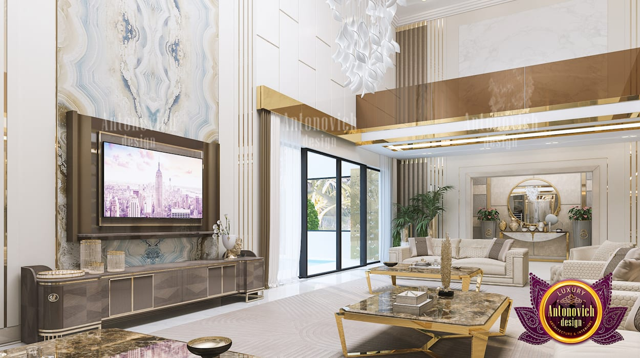 de estilo  por Luxury Antonovich Design,