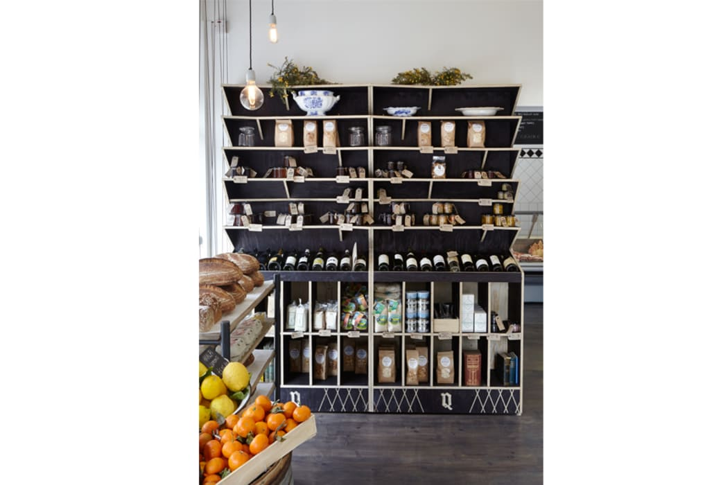 The Quality Chop Shop:  Commercial Spaces by Shape London