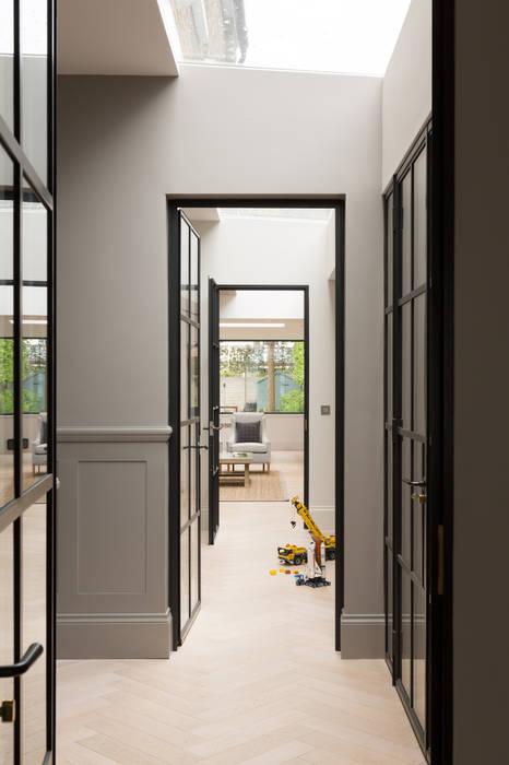 Hallway Shape London Modern Corridor, Hallway and Staircase