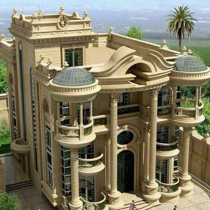 العمارة فن تجتمع فيه الشعوب:  فيلا تنفيذ pm architects, كلاسيكي