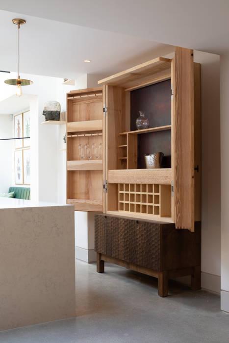 Storage:  Kitchen units by Shape London,