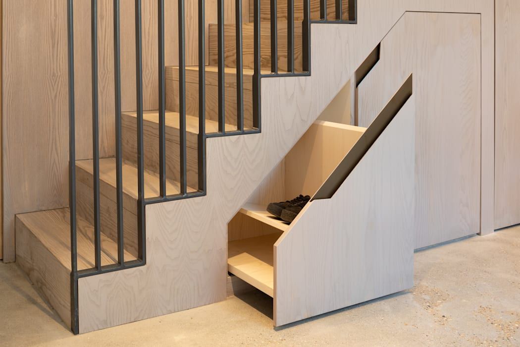 The Signal House:  Stairs by Shape London