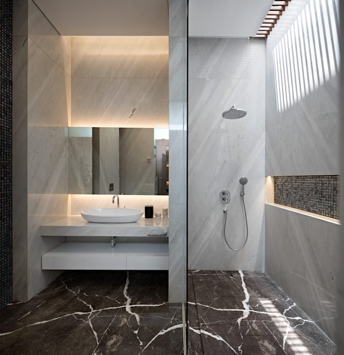 Asian style bathroom by Rakta Studio Asian