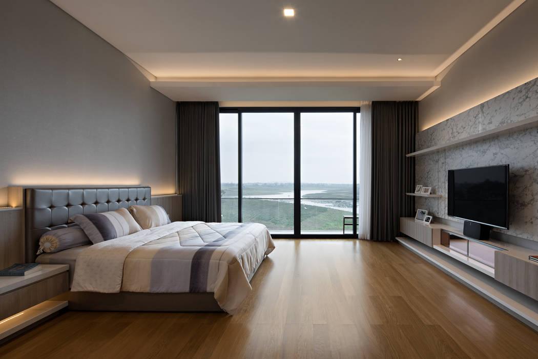 Rakta Studio Asian style bedroom