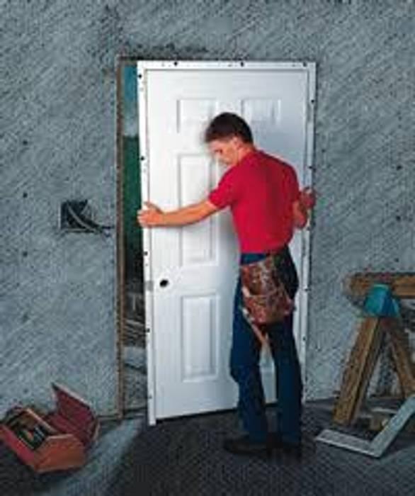 Door Installer Informatics USA Wooden doors چوب صنعتی Grey