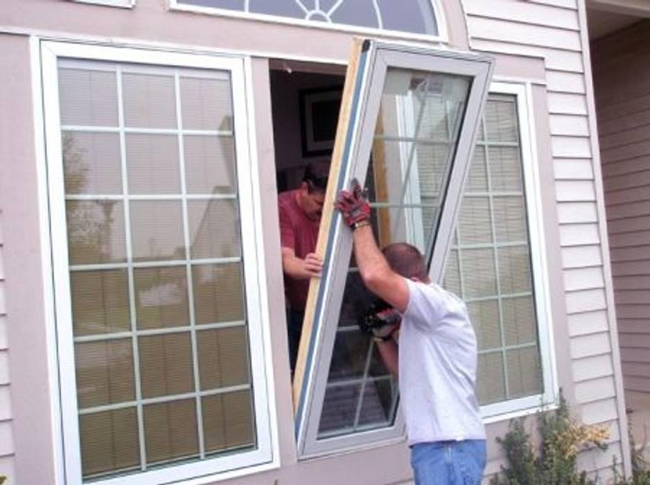 Glass Door installation Informatics USA Wooden doors چوب صنعتی Grey