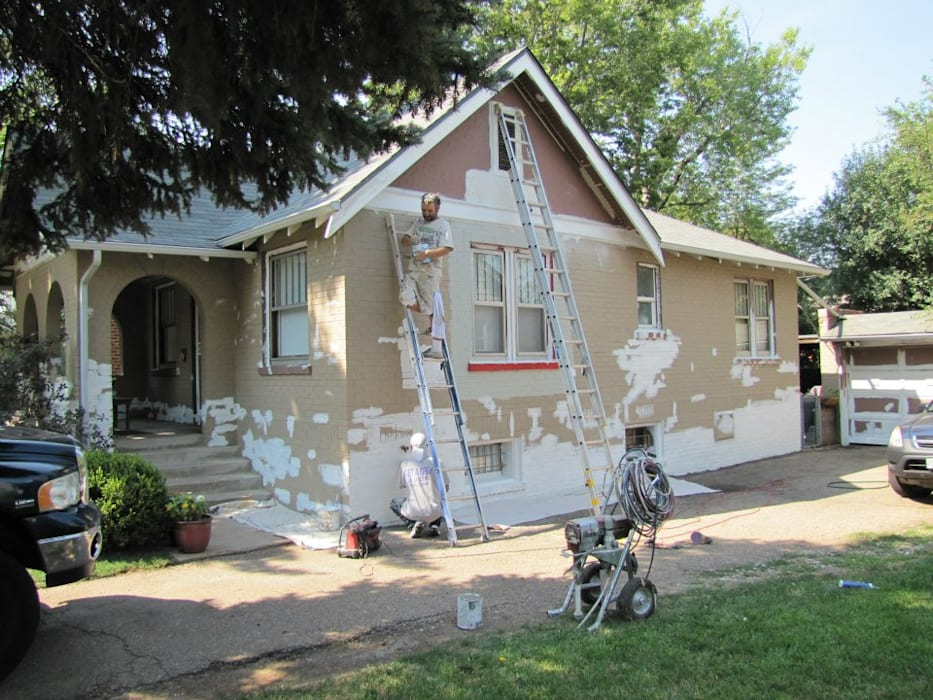 Preparing for Exterior paint by Informatics USA Eclectic Plywood