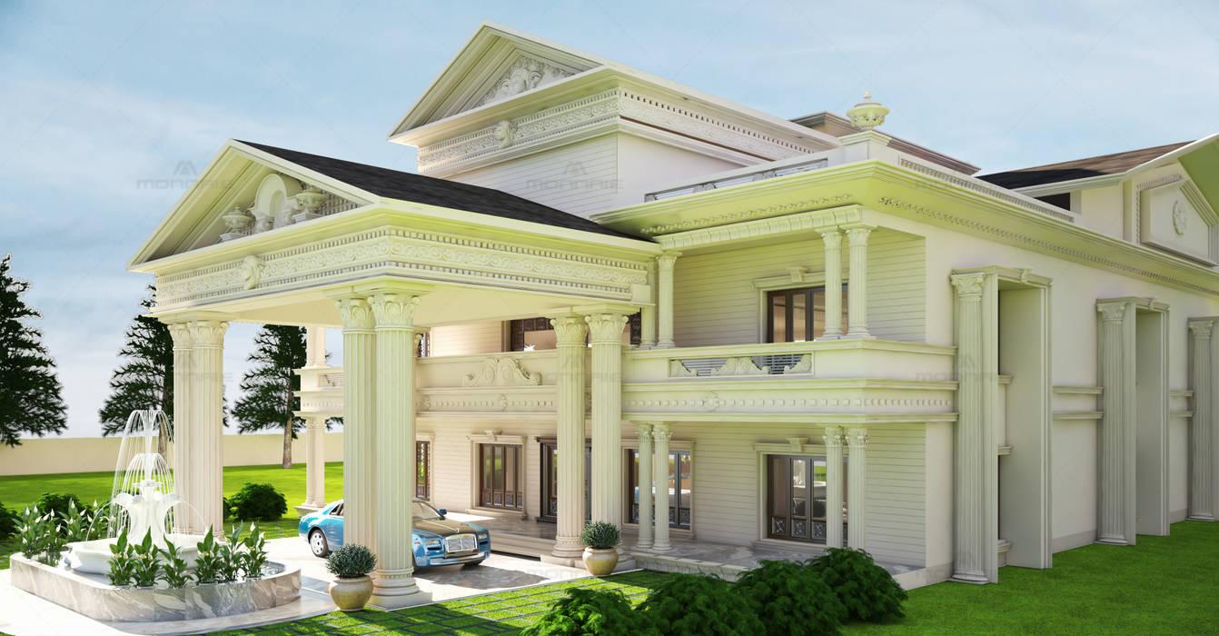 Royal Mansion - Monnaie Architects & Interiors, Kochi, Kerala:  Bungalow by Monnaie Architects & Interiors